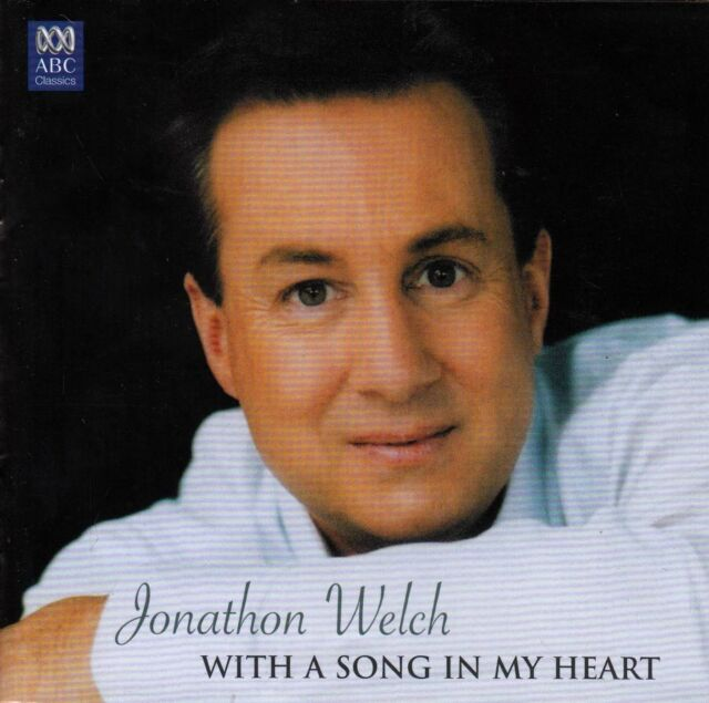JONATHON WELCH With A Song In My Heart CD