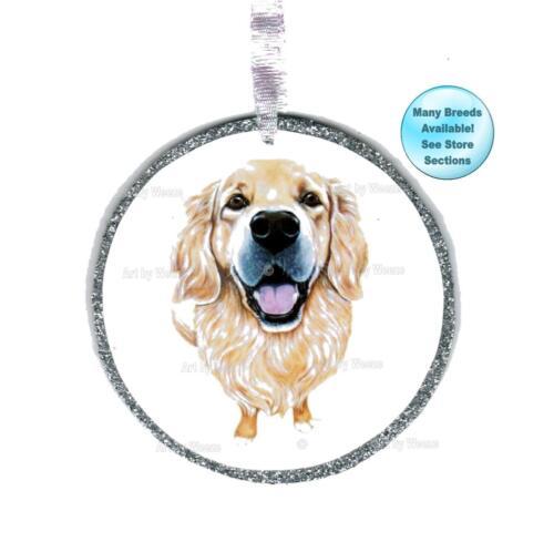 Golden Retriever Ornament Christmas Tree Ornament Dog Remembrance