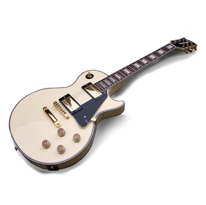 Fernandes Burny RLC-55 RR AWT Electric Guitar Randy Rhoads, Aged White