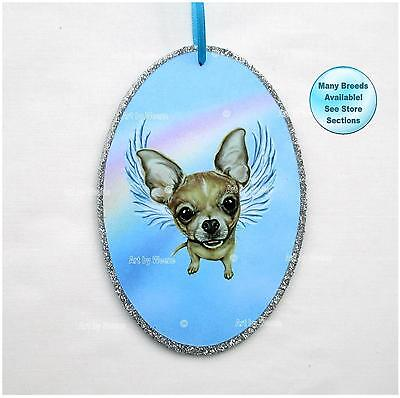 Chihuahua Angel Ornament Dog Memorial Christmas Ornament