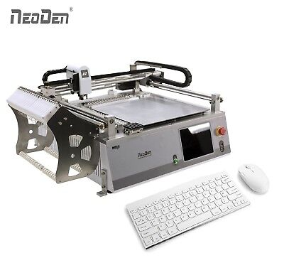 Neoden Small Smt Machine Pick And Place Robot Neoden3v For Prototype 0402 Ic Led