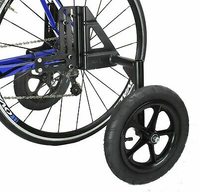 CyclingDeal Adjustable Adult Bicycle Bike Training Wheels Fits 24