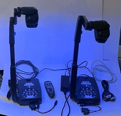 Lot Of 2 Avermedia Avervision 300af Portable Document Cameras