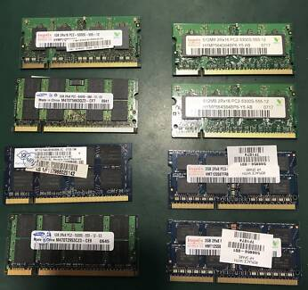 used ddr2 laptop memory 1gb
