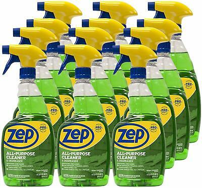 Zep All-purpose Cleaner And Degreaser 32 Ounce Zuall32 Case Of 12 Pro Formula