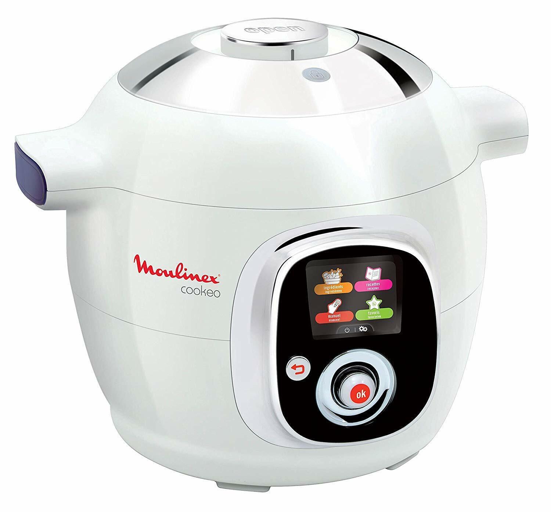 Multicuiseur Cookeo Moulinex 6l 1200w Robot Cuisine Autocuiseur