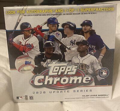 2020 Topps Chrome Update Series Baseball Mega Box Target Exclusive Autos