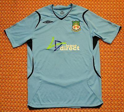 2008 - 2009 Wrexham, Away Football Shirt by Umbro, Mens Medium, #5 image