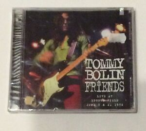 TOMMY-BOLIN-Live-At-Ebbets-Field-June-1974-New-ZEBRA-REC-1999-1st-ed