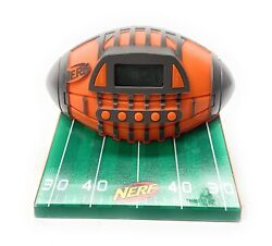 Nerf Football N-Strike Alarm Clock Radio