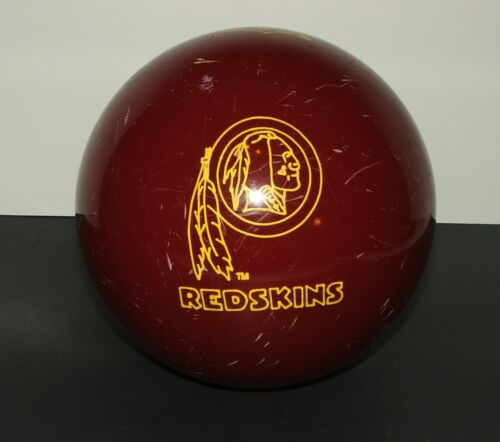 Brunswick NFL Washington Redskins 16 LB Bowling Ball Undrilled Vintage