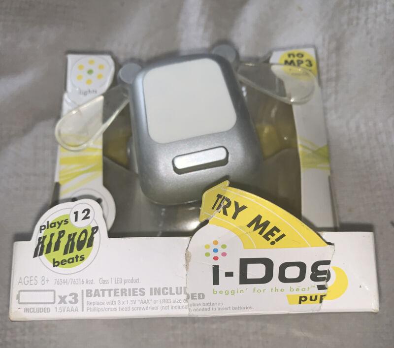 NOS Hasbro iDog Pup Hip Hop Beats Yellow Lights & Movement Works!