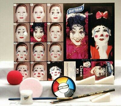 Graftobian Professional_Clown Makeup Kit_for Special Effect_Make-up Kit - Special Effects Make Up Kit