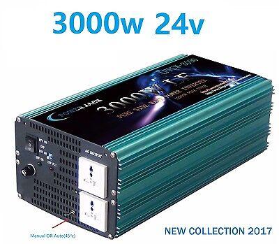 Usado, Inversor Onda Pura 24v 3000w Pure Wave Inverter 24v 3000w comprar usado  Enviando para Brazil