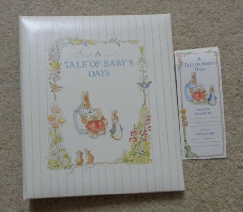 Vintage Peter Rabbit A Tale of Baby