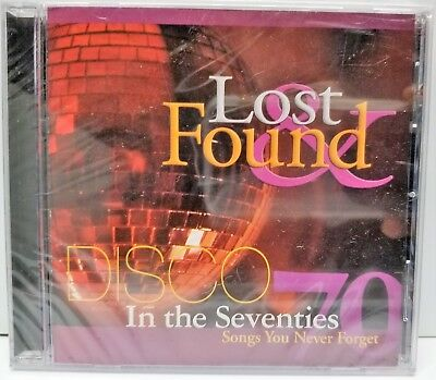Lost & Found Disco In The 70's sealed CD new old stock - Disco In The 70s