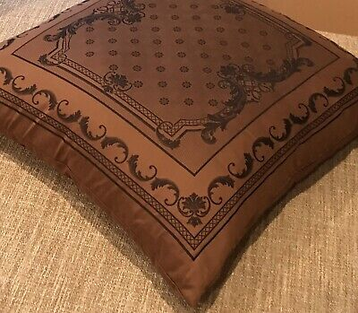 "AUTHENTIC VERSACE HOME OVERSIZED 24"" BAROCCO PILLOW"