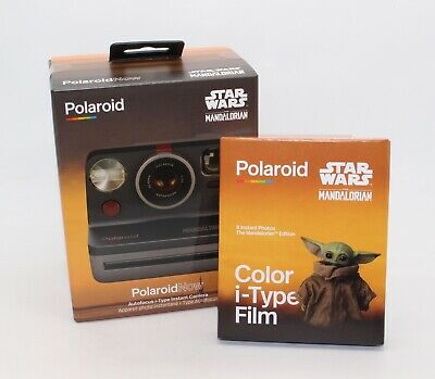 Polaroid Now i-Type Instant Camera & Film: Star Wars - The Mandalorian™ Edition