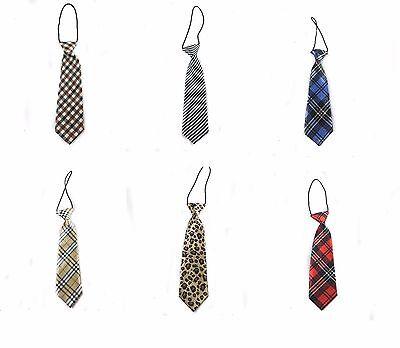 6 Elegant Desgin Plaid Farbe 1x Kinder Smoking Anzug Krawatte für Kinder