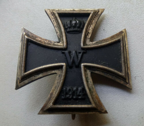 Original German WW 1 Iron Cross 1. Class - marker L13