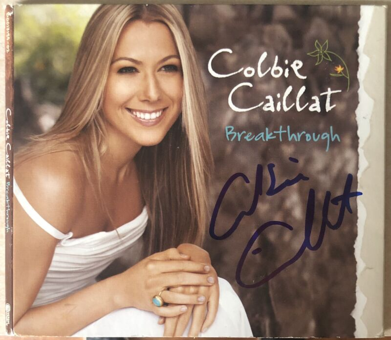 Colbie Caillat Signed Autographed Breakthrough CD