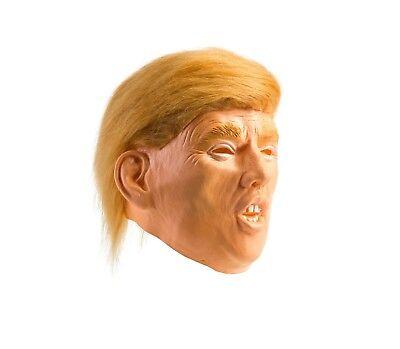 Latex Donald Trump Maske Kostüm Republikaner President - Donald Trump Kostüm