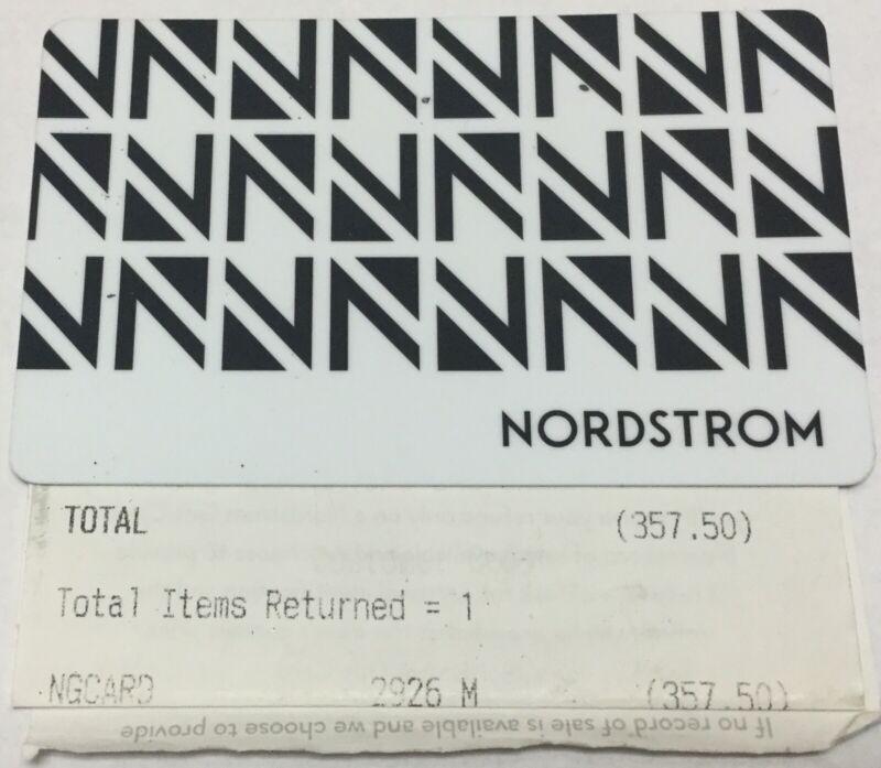 Nordstrom $357.50 Gift Card