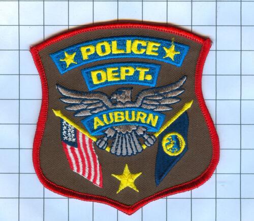Police Patch - Nebraska - Auburn