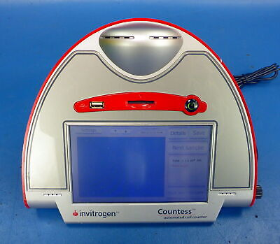 Invitrogen Contess Automated Cell Counter Hemocyrometer w/ AC Adapter