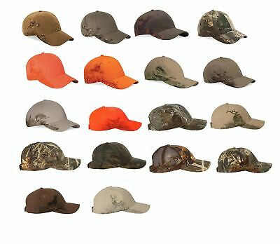 Dri Duck Wildlife Series Camo Hat Adjustable Hunting Baseball Cap Outdoor -