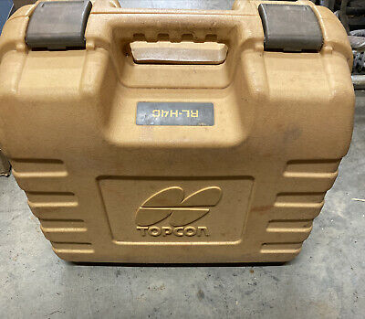 Pre Owned Topcon Rl-h4c Self Leveling Rotary Laser With Ls-80l Receiver