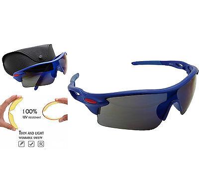 Gafas de Sol UV 400 Ciclismo Polimero de Carbono MTB Bicicleta +...