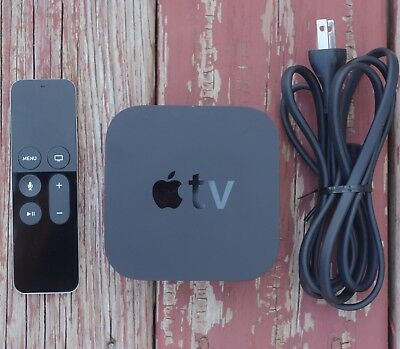 Apple Tv 4Th Gen 64Gb 1080P Hd Siri Remote Mlnc2ll A Hd Model A1625 Tv Streamer