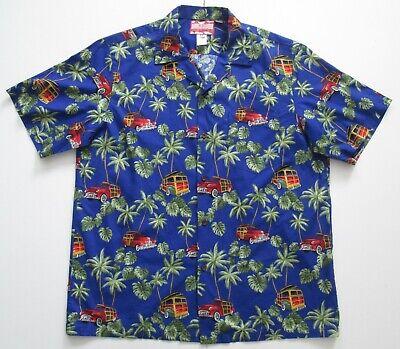 "Vintage Auth RJC Hawaii USA  Hawaiian Shirt 50""-127cm XL (85H)"