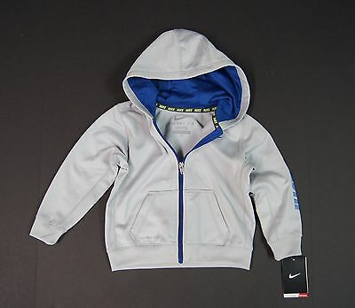 NIKE Baby Toddler's Thermal Fit Zip Hoodie Sweat-Shirts Wolf Grey NEW NWT - Baby Thermal Hoodie