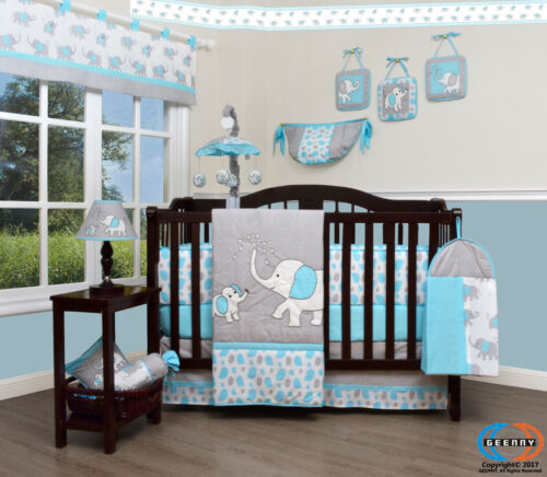 Clearance!! Boutique Leap Froggy Froggie 13PCS CRIB BEDDING SET