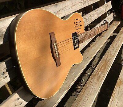 Godin A6 Ultra 2016 Natural Finish Semi-Hollow Semi Acoustic Electric Guitar