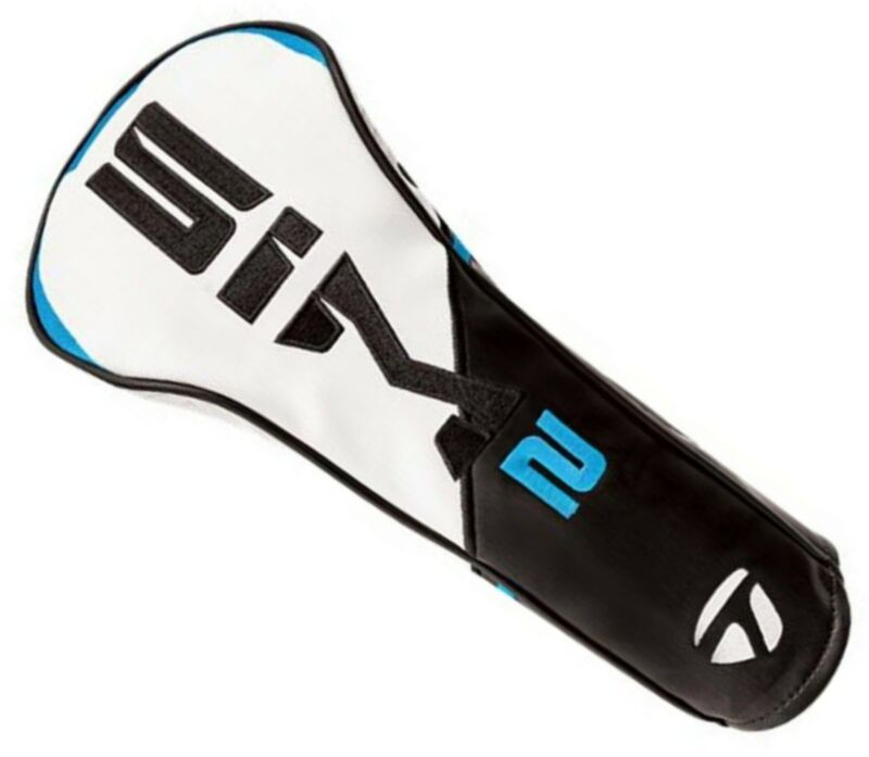 NEW 2021 TaylorMade Golf Sim2 FAIRWAY WOOD HEADCOVER Black/White/Blue/Lime Neon