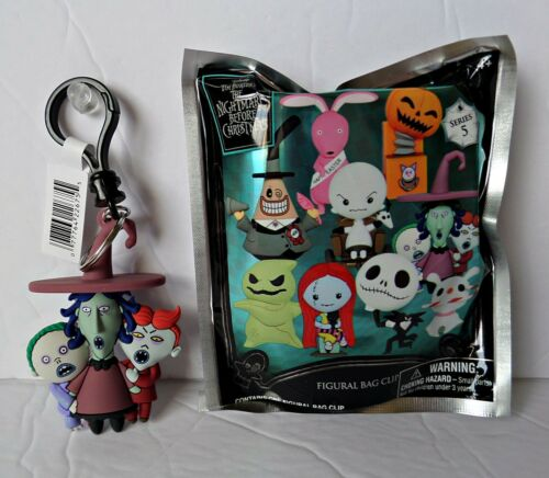 Collectible 3D Figural Nightmare Before Christmas Series 5 Lock, Shock, & Barrel