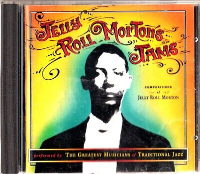 JELLY ROLL MORTON JAMS CD 1993 The Best Of/Greatest Hits KID ORY/RALPH