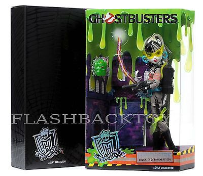 2016 SDCC Mattel Monster High Ghostbusters Frankie Stein Doll Comic Con