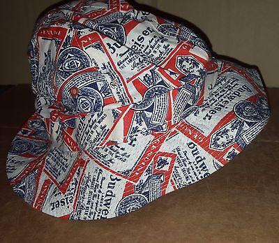 Budweiser Crusher/ Bucket Hat, NEW, -