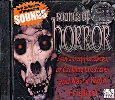 SOUNDS OF HORROR: CLASSIC HALLOWEEN HORROR HAUNTED HOUSE & GRAVEYARD EFFECTS NEW - Halloween Horror Sounds Effects