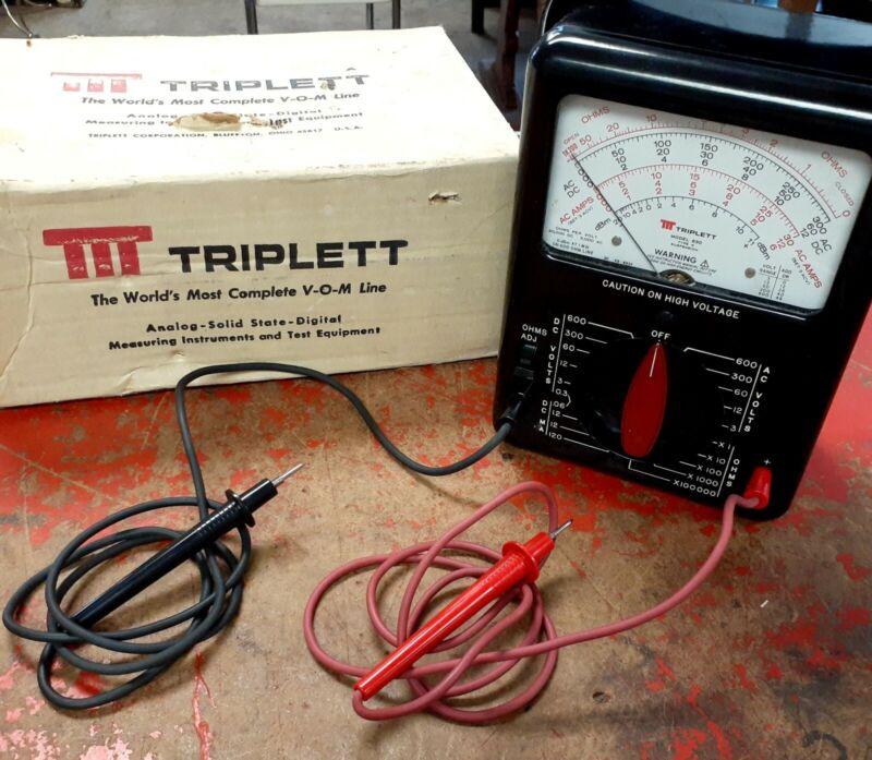 Triplett 630 with Original Box