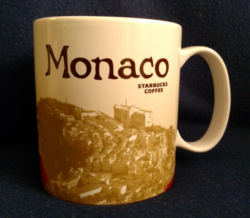 Monaco - Starbucks Global Icon Collector Series coffee mug 16oz  New