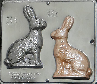 6 bunny assembly chocolate candy mold easter