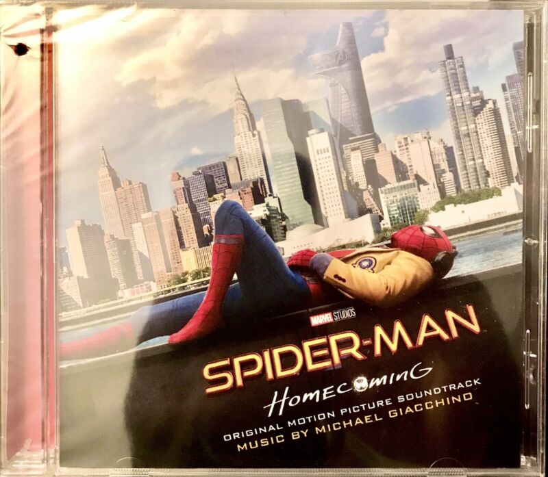 """""""Spider-Man: Homecoming"""" Original Motion Picture Soundtrack by Michael Giacchino"""