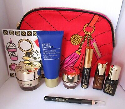 Estee Lauder Beauty Gift. 7 items plus Cosmetic Bag. New. Advanced Night Repair.