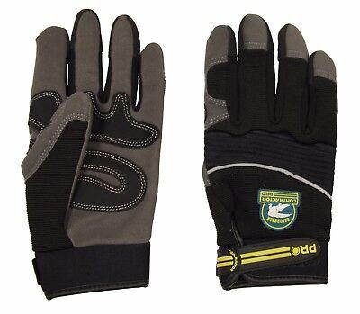 Gatorback 632 Synthetic Leather Work Gloves. Carpenter Electrician Framer