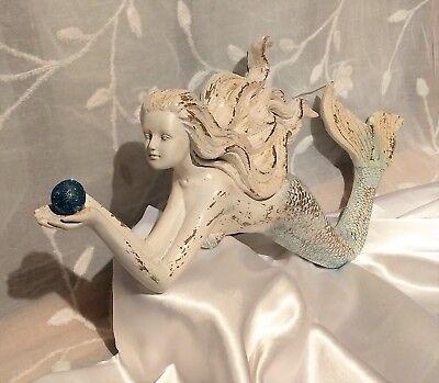 Mermaid Wall Decor,Blue Pearl,Beachhouse Decor,Nursery Decor,Nautical Theme,Bath